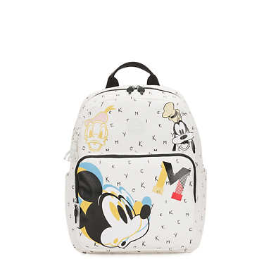 키플링 Kipling Bright샵디즈니 Disneys Minnie Mouse and Mickey Mouse Backpack,KEEP IT CLASSIC