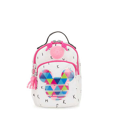 키플링 Kipling Alber샵디즈니 Disneys Minnie Mouse and Mickey Mouse 3-In-1 Convertible Mini Bag Backpack,ALL EARS A