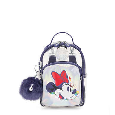 Disney's Minnie Mouse and Mickey Mouse 3-In-1 Alber Convertible Mini Bag Backpack - MY MOUSE A