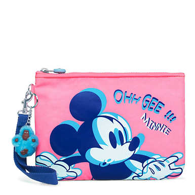 Disney's Minnie Mouse and Mickey Mouse Sweetie Medium Printed Pouch - SHOCKED MICKEY