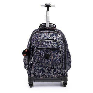 Echo II Metallic Rolling Backpack - Vibrant Sketch