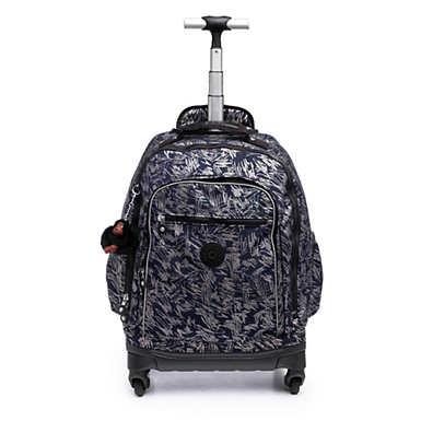 키플링 롤링 백팩 Kipling Echo IIMetallic Rolling Backpack,Vibrant Sketch