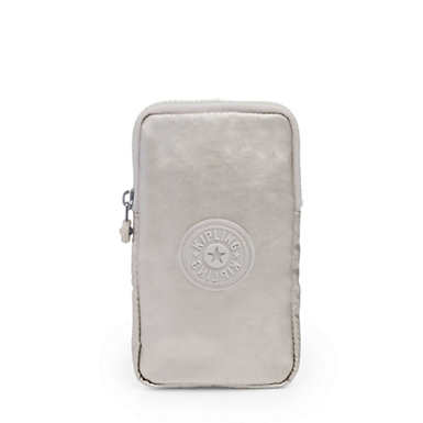 Davis Metallic Accessory Pouch - Cloud Grey Metallic