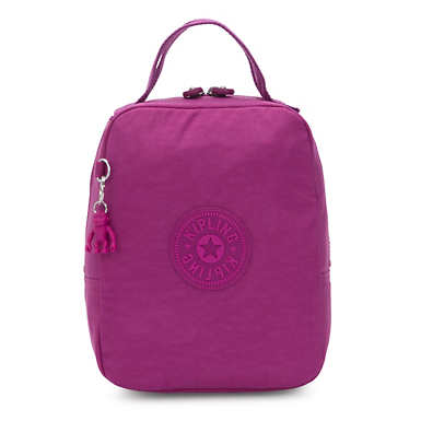 Lyla Lunch Bag - Bright Pink