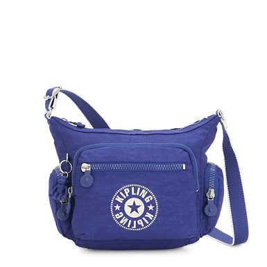 Gabbie Small Crossbody Bag - Laser Blue