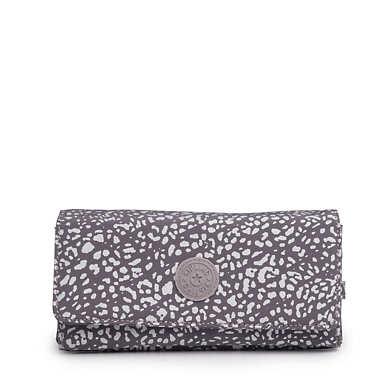 New Teddi Snap Wallet - Luminous Stripe