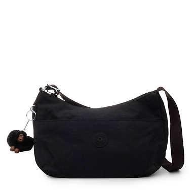 키플링 크로스바디백 - 블랙 Kipling AdleyBag,Black Tonal Zipper