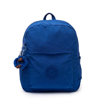 Bennett Backpack - Blue Topics Tonal Zipper