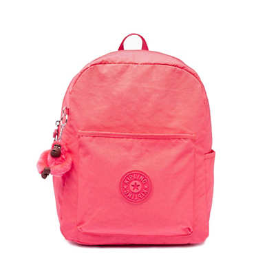 Kipling Bennett Backpack (Grapefruit Tonal Zipper)
