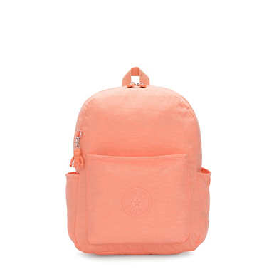 Bennett Medium Backpack - Peachy Coral