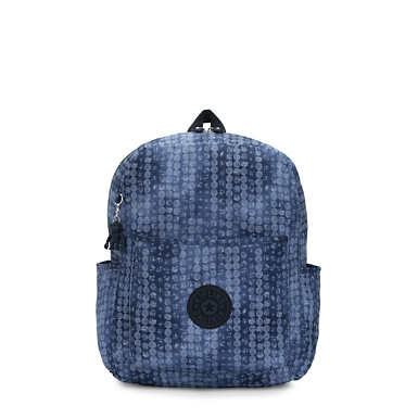 Bennett Medium Printed Backpack - Casual Dot