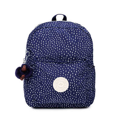 Bennett Printed Backpack - Surreal Dot