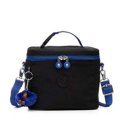 Graham Lunch Bag - Black and Blue