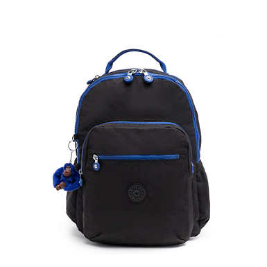 "Seoul Go Large 15"" Laptop Backpack - Black and Blue"