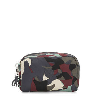 Gleam Printed Large Pouch - Camo