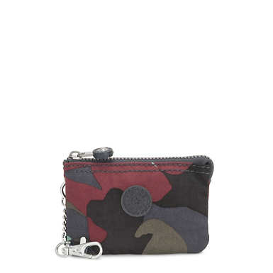 Creativity Mini Printed Pouch Keychain - Camo