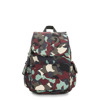 City Pack Medium Printed Backpack - Camo