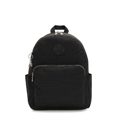 키플링 Kipling CitrineLaptop Backpack,Black Dazz