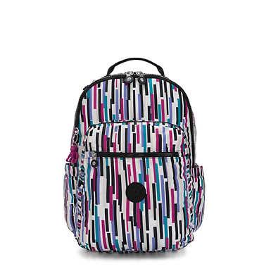 "Seoul Large Printed 15"" Laptop Backpack"