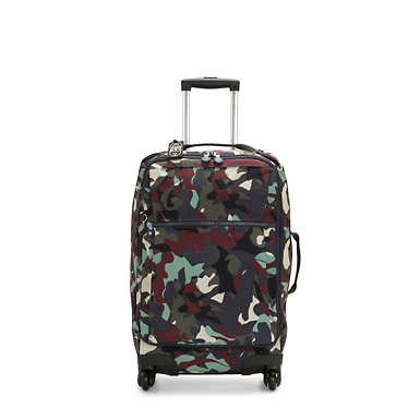 Small Carry-On Rolling Luggage - Camo