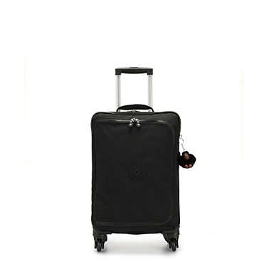 Cyrah Small Carry-On Rolling Luggage - True Black
