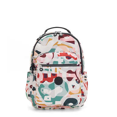 "Seoul Large 15"" Laptop Backpack - Music Print"