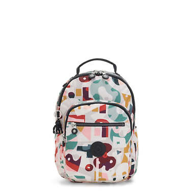 "Seoul Go Small 11"" Laptop Backpack - Music Print"