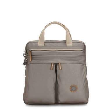Komori Small Tote Backpack - Fungi Metal