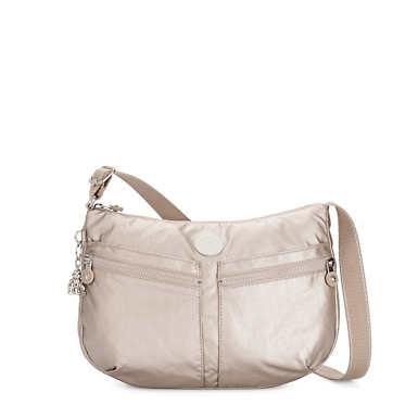 Izellah Metallic Crossbody Bag