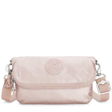 Ibri Mini Metallic Convertible Bag - Metallic Rose