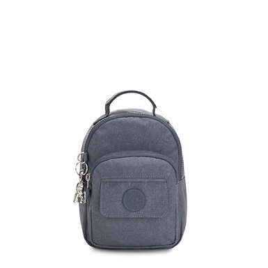 Alber 3-In-1 Convertible Mini Bag Backpack - Navy Blue Twist