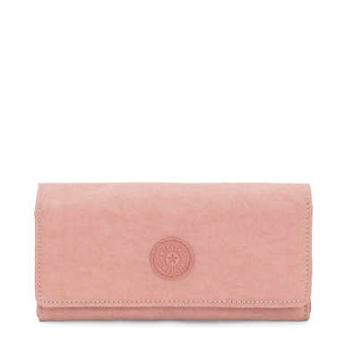 New Teddi Snap Wallet - Glimmer Pink