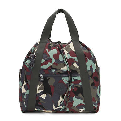 Art Medium Printed Tote Backpack - Camo