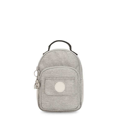 Alber 3-In-1 Convertible Mini Bag Backpack - Chalk Grey