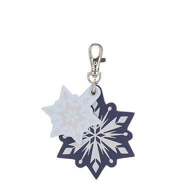 Disney's Frozen II Snowflakes Charm Keychain - Snowflakes