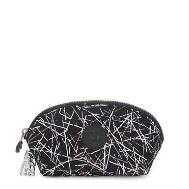 Baroe Printed Pouch - Navy Stick