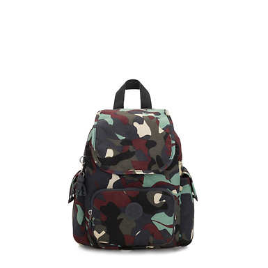 City Pack Extra Small Printed Backpack - Camo