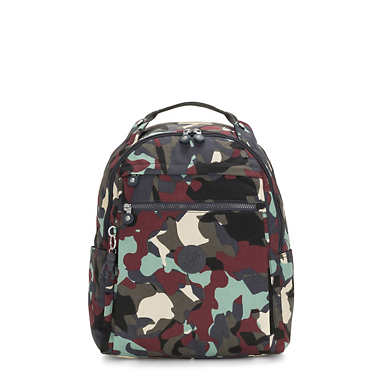 키플링 15인치 백팩 미디움 Kipling Micah Medium Printed 15 Laptop Backpack,Camo