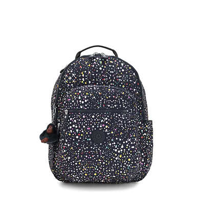 "Seoul Large 15"" Laptop Printed Backpack - Happy Dot"