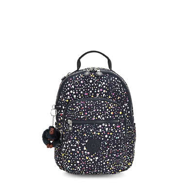 Seoul Small Printed Backpack - Happy Dot