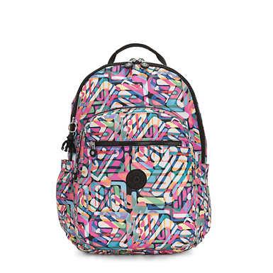 키플링 서울 백팩 엑스 라지 17인치 랩탑 Kipling Seoul Extra Large17 Laptop Backpack,Wild Melody