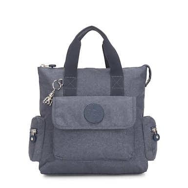 Revel Convertible Backpack - Navy Blue Twist