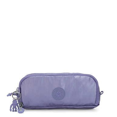 Gitroy Metallic Pencil Case - Metallic Purple