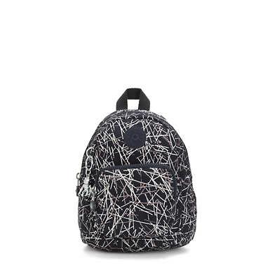 Glayla Convertible Metallic Mini Backpack
