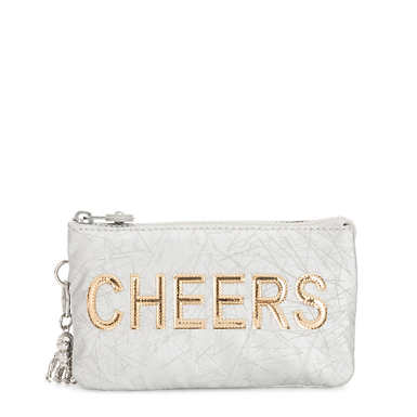 Creativity Large Metallic Cheers Pouch - Cheers