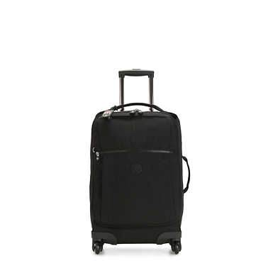 Darcey Small Carry-On Rolling Luggage - Black Noir