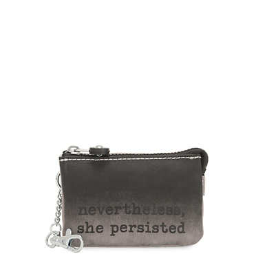 Creativity Mini Printed Pouch Keychain - Persisted