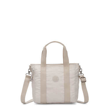 Asseni Mini Tote Bag - Glimmer Grey