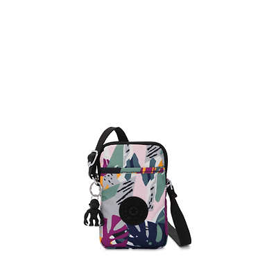 Tally Printed Crossbody Phone Bag - Active Jungle