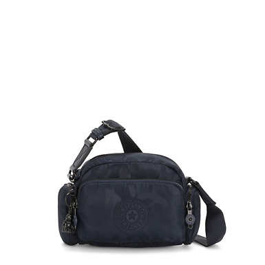 Jenera Small Crossbody Bag - Satin Camo Blue